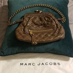 Marc Jacobs Mini Stam Shoulder Bag in Brown